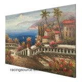 Обрамленная абстрактная печать искусствоа ландшафта картины маслом холстины для декора стены