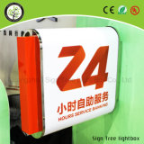 최고 판매 게시판 Lightbox를 형성하는 피추어지는 아크릴 LED 진공