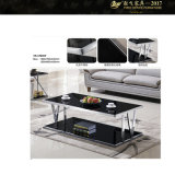 SGS Certification Square Glass Top Coffee Table for Sale (YF - 170070T)