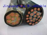 Nh-Kyjv cabo fireresistant isolado e PVC Sheathed de XLPE de controle