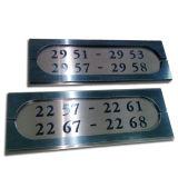 ホテルのディレクトリガイドのドアの部屋番号の印のDoorplates
