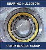 Het cilindrische Lager van de Rol Nu330 Ecm met de Kooi van het Messing