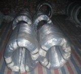 Con recubrimiento de zinc de alta inmersión en caliente de alambre galvanizado