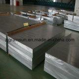 Piatto di alluminio per la carrozza ferroviaria
