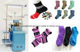 Feder-Garn-Socken-Strickmaschine