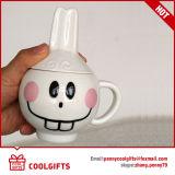 Tazza di ceramica del fumetto sveglio su ordinazione animale 3D di figura (CG224)