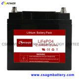 batteria di 12V/40ah LiFePO4 per la batteria al piombo del rimontaggio dell'alimentazione elettrica