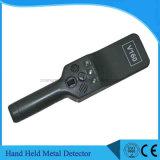 V160 de Non-ferro Handbediende Scanner van het Lichaam van de Detector van het Metaal voor de Inspectie van de Veiligheid