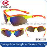 Claridad inastillable de Guangzhou alta de los anteojos de la bici de montaña de la visión que completan un ciclo el montar a caballo que conduce el tenis que compite con Sunglass