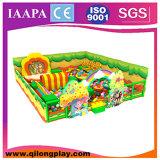 Divertimento dell'interno dei 2016 vendita calda Plaground di nuovo bambini di alta qualità con il trampolino