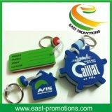 Porte-clés en relief EVA de conception différente promotionnelle