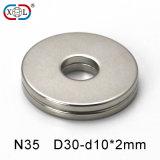 De sterke Magneten van het Neodymium van de Permanentie met Hete Verkoop