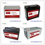 Lithium-Eisen-Phosphatbatterie (LiFePO4) 12V 24V, wie VRLA Batterie