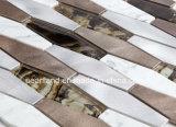 Стена легкой установки нутряная кроет алюминиевую мозаику черепицей стекла Composit