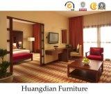 특대 나무로 되는 호텔 침실 가구 침실 세트 (HD246)