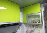 Gabinetes de cozinha lustrosos do MDF 2pak