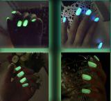 Светящий свет клея ногтя в темном OEM маникюра