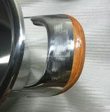 Jeu inférieur de batterie de cuisine de l'acier inoxydable 304 de choc
