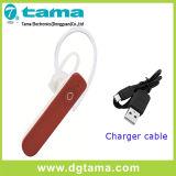 5 Farben sondern Earbud Bluetooth Kopfhörer mit 30cm USB-Aufladeeinheits-Kabel aus