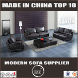 新しいデザイン現代居間の家具の贅沢な革羽のソファー