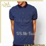Buena camisa del cuello del polo de la manera de One-up del precio para los hombres