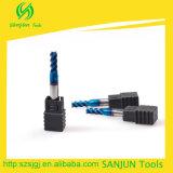 4 laminatoi di estremità del carburo della scanalatura, accessori di giro delle macchine utensili di CNC in fresa