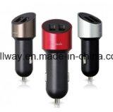 Наградной заряжатель 5V 1A автомобиля удваивает переходника заряжателя автомобиля молотка Быстро-Скорости USB Port для Apple