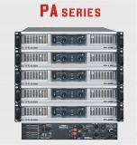 Sonido estereofónico de la serie del PA del amplificador de potencia