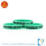 Wristband personalizado do silicone de China segmento por atacado