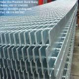 Barre en acier galvanisée par ISO9001 râpant pour l'étage