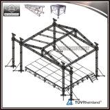 Алюминиевая ферменная конструкция крыши с портативной башней освещения этапа