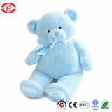 푹신한 분홍색 견면 벨벳 장난감 연약하고 귀여운 아이 장난감 곰