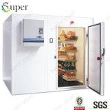 Caminata del supermercado de la alta calidad en el congelador del pecho del sitio de conservación en cámara frigorífica del té verde para la venta