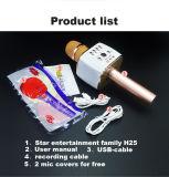 Caidao karaoke-KTV-draadloos-Bluetooth-microfoon-spreker-zingen-machine-speler-Mic-Q25s