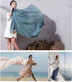 Bufanda más popular pura de la viscosa 2016 del color el 100% con precio barato