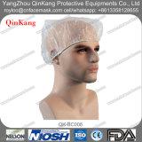 使い捨て可能な病院の外科流動抵抗力があるPEのゴムの帽子