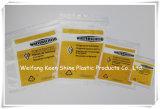Fabrik passen Drucken-wiederversiegelbarer Reißverschluss-Verschluss-Plastiktasche an