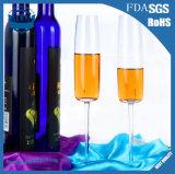 Cálice de cristal do vidro do terno de Champagne de uma forma de 300 Ml