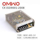 bloc d'alimentation à sortie unique de commutation de 40W 5V 8A avec 2 ans de garantie
