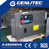 Portable diesel silenzioso del generatore raffreddato aria di 3000rpm/3600rpm 8kw 10kVA