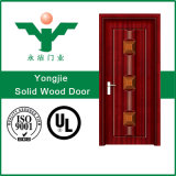 China Best Solid Wood Fancy Carving Conception de porte en bois massif