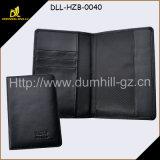 RFID преграждая крышку держателя пасспорта перемещения кожаный