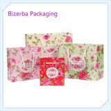 Мешок изготовленный на заказ бумажного подарка упаковывая