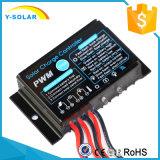 panneau solaire de la mini taille 10A-12V-S/contrôleur de pouvoir avec le contrôle léger imperméable à l'eau