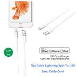 Mfi certificó el relámpago 8pin al cable de la sinc. del USB para Apple