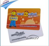 Carte sans contact 1k Smart Card de l'IDENTIFICATION RF IC de PVC