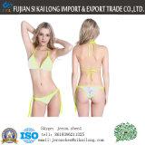 Beachwear poco costoso all'ingrosso del bikini dello Swimwear del triangolo