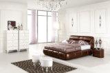 Base enorme de couro moderna para a mobília Home do quarto (HC1168)
