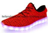 De Schoenen van de recentste OEM LEIDENE van de Flits van Kinderen Sport van Schoenen (FFLS0208-02)