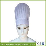 Chapéu de chef de restaurante não tecido com maior altura